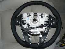 Plastic Backing Removed From Steering Wheel