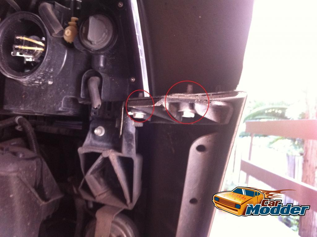 www carmodder com • Front Headlamp Upgrades for the Holden VE Commodore