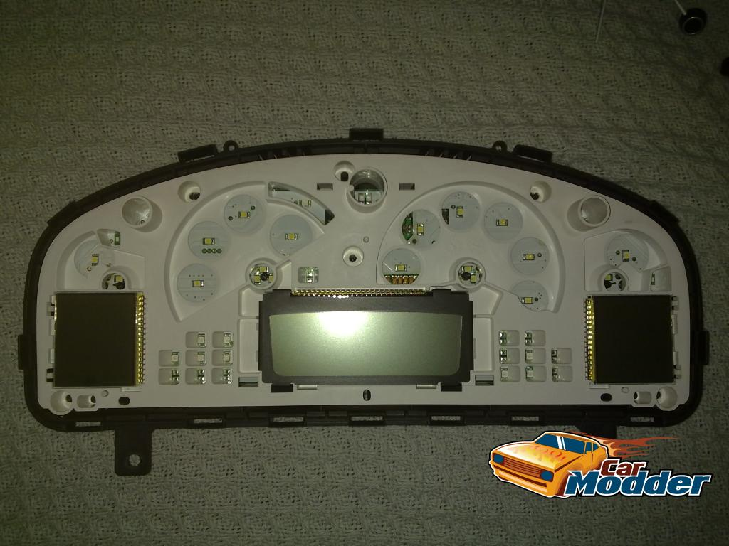 Holden VY Instrument Cluster with the dial facia removed