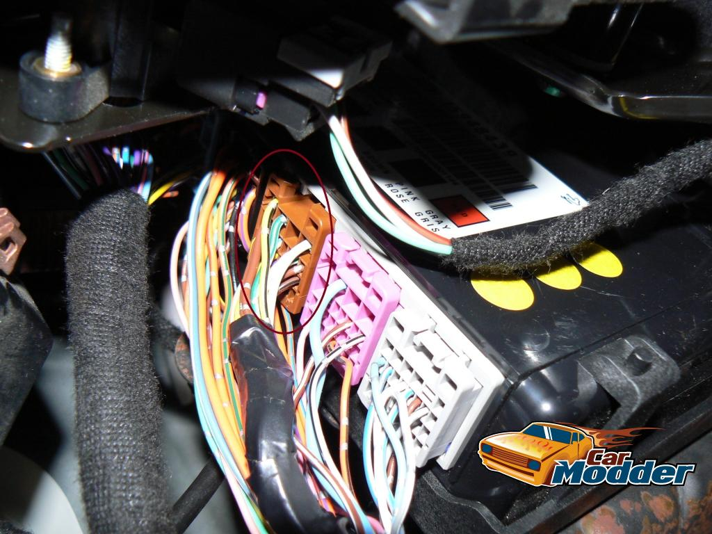 Fitting The Hsv Triple Gauge Pod For Holden Ss Ignition Module Wiring Harness Locate White Wire With Yellow Stripe Pin 24 From Fifth Connector Brown On Body Electronics And Connect Backlight