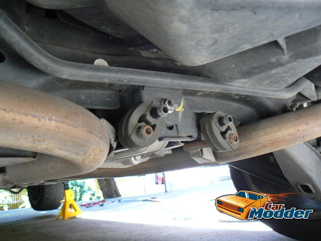 Www Carmodder Com Fitting An Aftermarket Exhaust System For The