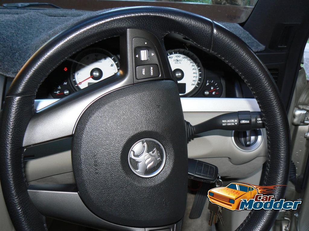 www carmodder com • Changing the Steering Wheel and Wheel