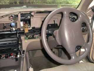 Figure 3. Ford EF Dash, with the cluster removed
