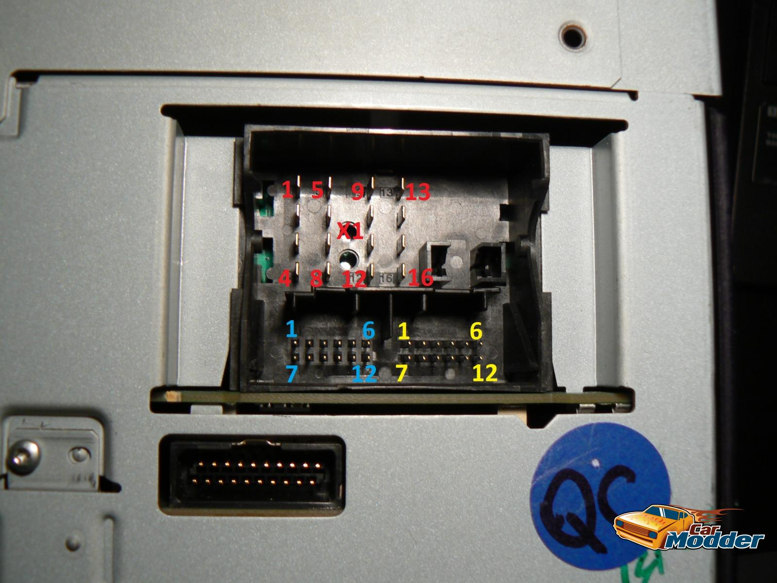 Carmodder holden iq wiring information for the holden ve radio hvac main unit wiring connector radio side asfbconference2016 Images