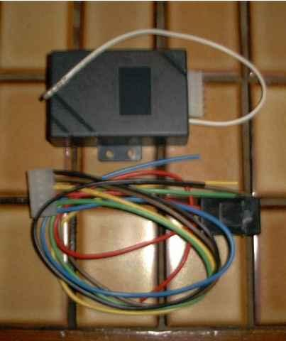 The Auto Winder Module, complete with Wiring Loom