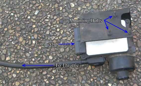 The Cruise Control Module, not yet fitted to the vehicle