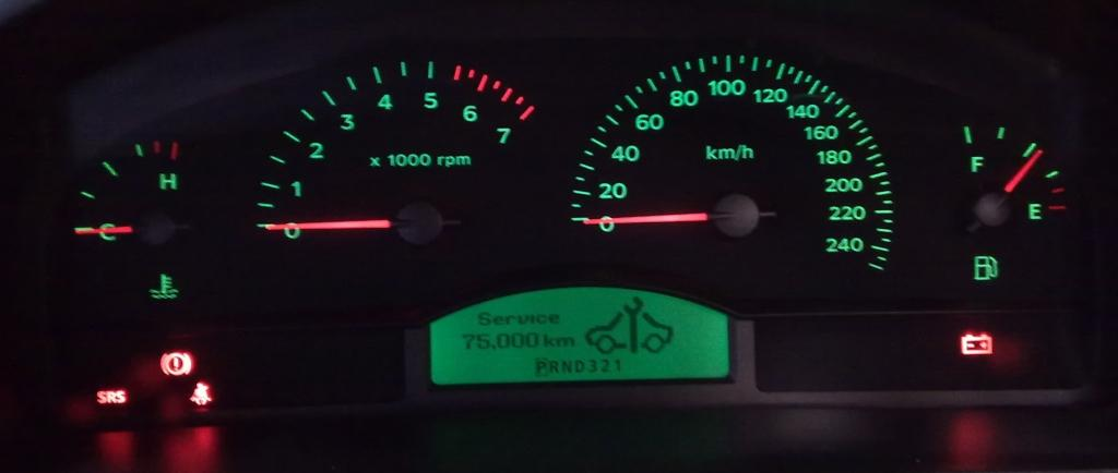The Commodore Executive Instrument Cluster