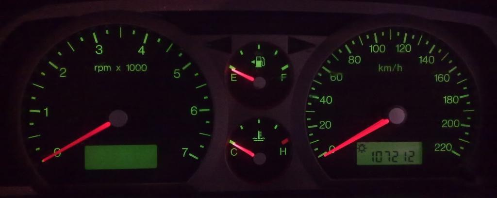 www carmodder com • Upgrading Instrument Clusters for the Ford BA Falcon