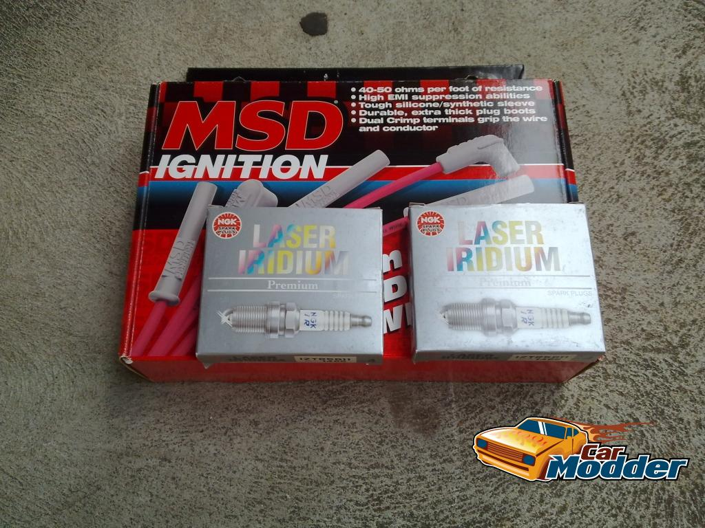 NGK Platinum Plugs and MSD Leads