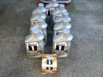 9 Litres of Mobil 1 Engine Oil, and Oil Filter