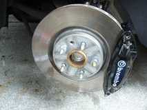 Brembo Brake Calliper fitted