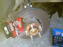 Old Rotor Removed