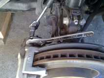 Removing the Top Caliper 12mm Bolt